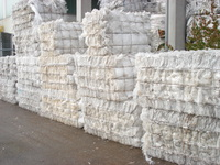 LDPE natural film bales